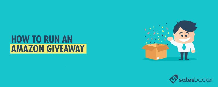 How to run an Amazon Giveaway